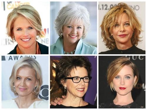 Frisuren Und Frisuren Von Frauen Nach 40 Jahren Erfolgreiche