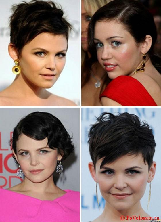 Vierling Mit Einem Knall Für Ein Rundes Gesicht Haarschnitte Für
