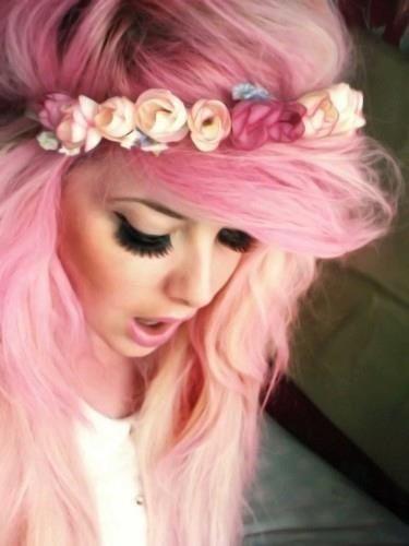 Rote Violette Haare Rosa Haare Wie Man Die Gewünschte